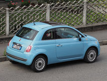 Nuovo Fiat 500 Fotografia Stock Libera da Diritti