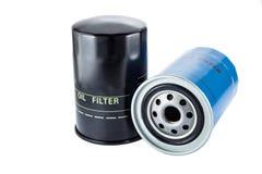 Nuovo filtro dell'olio fotografie stock