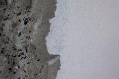 Nuovo fondo del muro di cemento prima dell'attaccattura delle mattonelle Pavimento, materiale fotografia stock