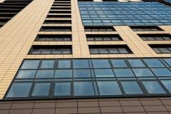 Nuovo fondo dell'appartamento della costruzione Immagine Stock Libera da Diritti