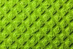 Nuovo fondo verde dello strofinaccio della cucina immagine stock libera da diritti