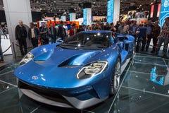 Nuovo Ford GT allo IAA 2015 Fotografie Stock