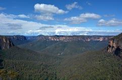 Nuovo Galles del Sud blu NSW dell'Australia delle montagne Immagini Stock Libere da Diritti