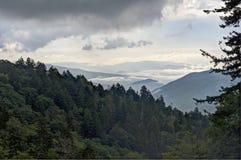 Nuovo Gap, montagne fumose Fotografia Stock Libera da Diritti