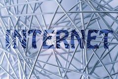 Nuovo genere di affare, il sogno di Internet Immagine Stock