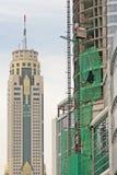 Nuovo grattacielo Fotografia Stock Libera da Diritti