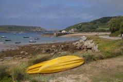 Nuovo Grimsby, Tresco, isole di Scilly, Inghilterra fotografia stock