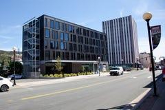 Nuovo hotel dell'alt Fotografia Stock