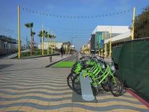 Nuovo ingresso a Santa Monica Pier Immagini Stock Libere da Diritti