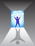 Nuovo inizio futuro luminoso Immagine Stock Libera da Diritti