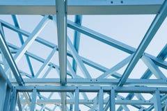 Nuovo inquadramento domestico della costruzione. Fotografie Stock Libere da Diritti