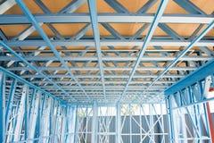 Nuovo inquadramento domestico della costruzione. Immagini Stock