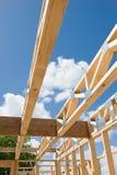 Nuovo inquadramento domestico della costruzione. Frammento. Immagini Stock Libere da Diritti
