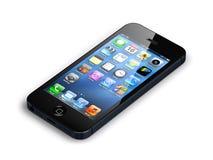 Nuovo iphone 5 della mela Fotografia Stock
