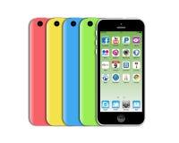 Nuovo iphone 5c di Apple Immagini Stock Libere da Diritti