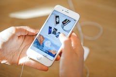 Nuovo iPhone 6S e iPhone 6s più Fotografie Stock Libere da Diritti