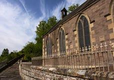 Nuovo Lanark: Chiesa del villaggio Fotografia Stock Libera da Diritti