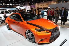 Nuovo Lexus È uno sport 2014 di 250 F Immagine Stock Libera da Diritti