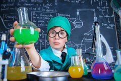 Nuovo liquido chimico Immagine Stock Libera da Diritti