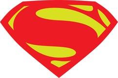 Nuovo logo del superman illustrazione di stock