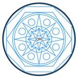 nuovo logo dell'aggeggio Fotografie Stock