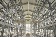 Nuovo lotto di costruzione di alte azione della baia Fotografie Stock