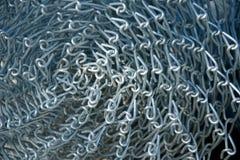 Nuovo materiale di recinzione del collegamento a catena in rotolo Fotografie Stock