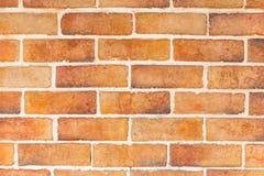 Nuovo mattone moderno arancio Fotografia Stock Libera da Diritti