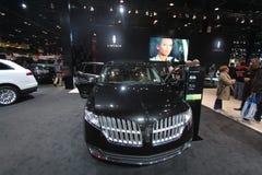 Nuovo modello 2011 di Lincoln all'esposizione automatica del Chicago Fotografie Stock