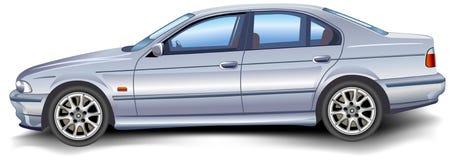 Nuovo modello BMW Fotografia Stock
