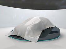 Nuovo modello dell'automobile. Fotografia Stock
