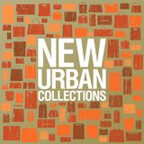 Nuovo modello urbano di disegno delle collezioni. illustrazione vettoriale