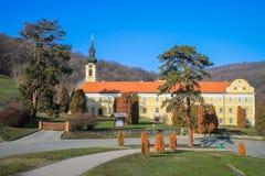 Nuovo monastero di Chopovo (Manastir Novo Shopovo) fotografia stock