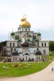 Nuovo monastero di Gerusalemme - Russia fotografia stock