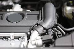 Nuovo motore di automobile fotografia stock