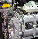 Nuovo motore di automobile Immagini Stock Libere da Diritti