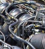 Nuovo motore di automobile Fotografie Stock Libere da Diritti