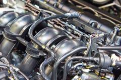 Nuovo motore di automobile Immagine Stock Libera da Diritti