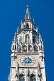 Nuovo municipio al quadrato di Marienplatz munich bavaria germany fotografia stock