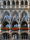 Nuovo municipio, Monaco di Baviera, Germania Fotografie Stock Libere da Diritti