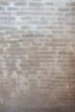 Nuovo muro di mattoni intonacante fotografie stock libere da diritti