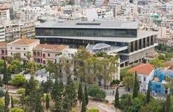 Nuovo museo dell'acropoli Fotografie Stock Libere da Diritti