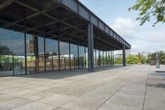 Nuovo National Gallery a Berlino Fotografia Stock
