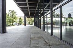 Nuovo National Gallery a Berlino Immagini Stock