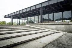 Nuovo National Gallery a Berlino Fotografie Stock Libere da Diritti