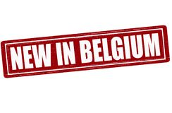 Nuovo nel Belgio Immagini Stock