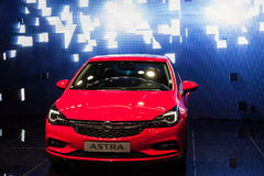 Nuovo Opel Astra allo IAA 2015 Fotografia Stock