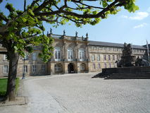 Nuovo palazzo Bayreuth Fotografia Stock Libera da Diritti