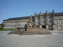 Nuovo palazzo Bayreuth Fotografia Stock