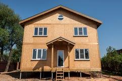 Nuovo pannello domestico della costruzione Fotografia Stock Libera da Diritti